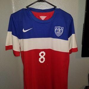 2014 USMNT Soccer Jersey Clint Dempsey #8